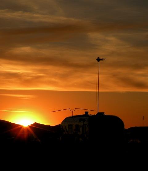 Quartzsite RV Sunset