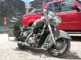 Militarized Kawasaki Motorcycle