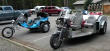 Custom Trike in Yellowstone