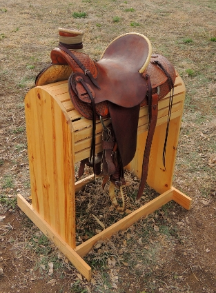 My 25+ year old cowboy saddle