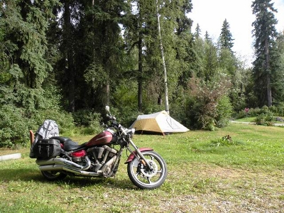 & The best Motorcycle Camping Tent isnu0027t that hard to pick