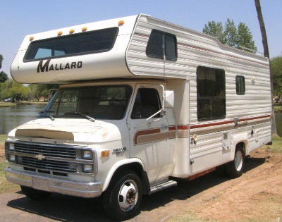 clean old used motorhome