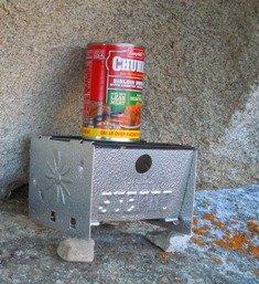 sterno stove in city of rocks