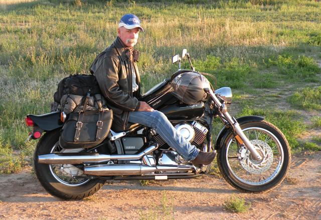 Motorcycle Touring on a V Star Custom