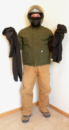 winter motorcycle riding gear